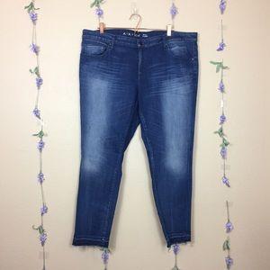 Ava + Viv released hem skinny jeans